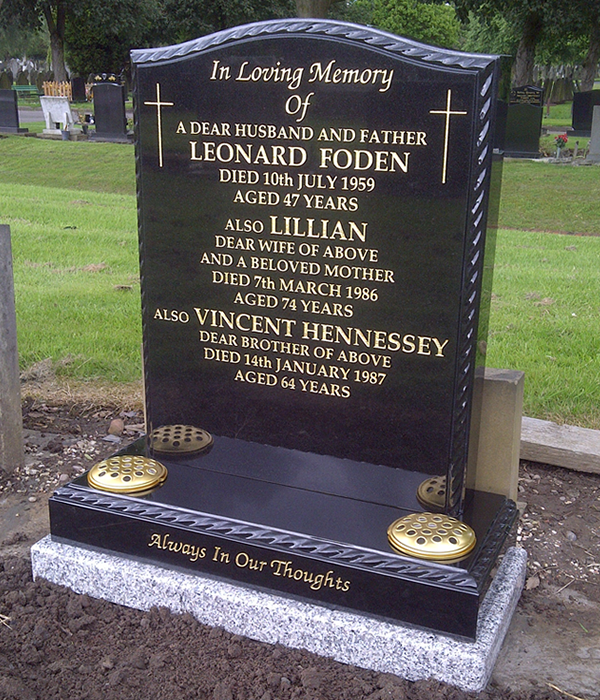 Memorials designed specifically to your individual needs