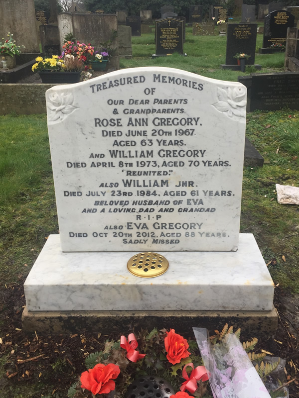 Restoration of a Memorial Headstone in South Manchester